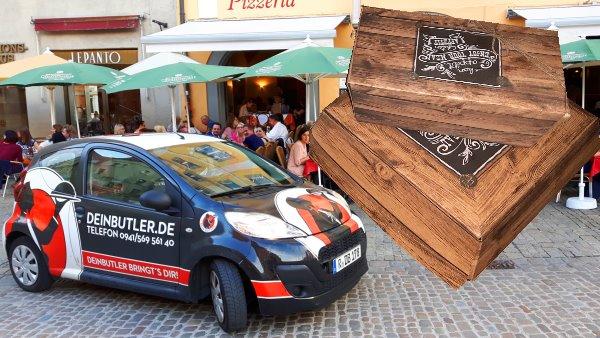 Lieferservice in Regensburg – Bestellungen über Foodora und dein Butler